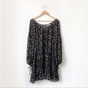 ASTR The Label | Floral Print Long Sleeve Dress M